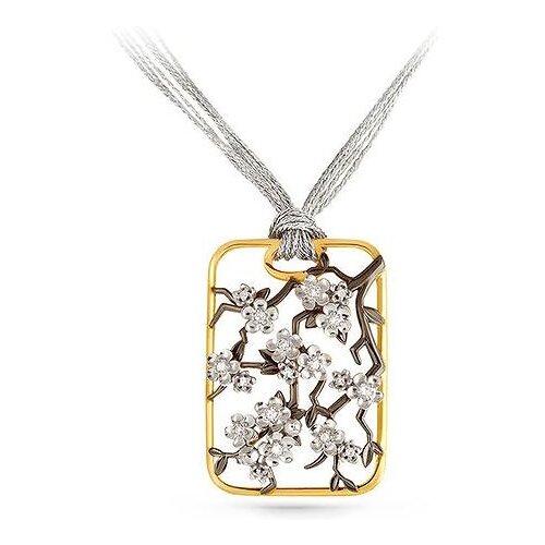 KABAROVSKY Подвеска с 18 бриллиантами из жёлтого золота 3-2311-1000