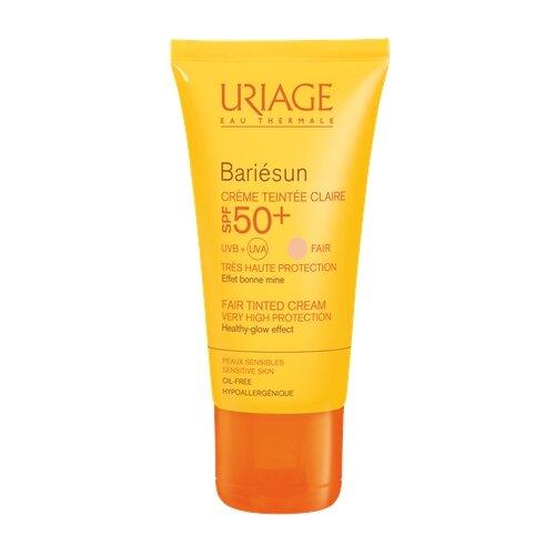 Uriage крем Bariesun тональный светлый, SPF 50, 50 мл, 1 шт