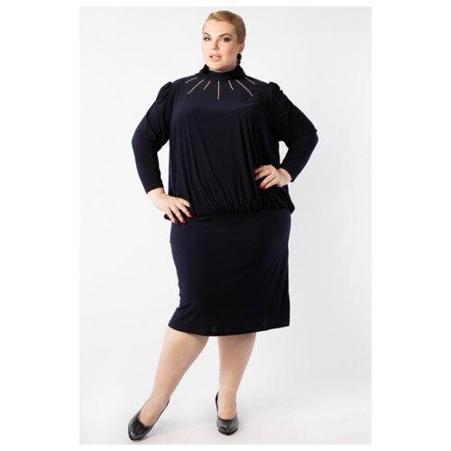 Платье ARTESSA PP19007DBL05 темно-синий размер 68-70 платье molo размер 68 синий