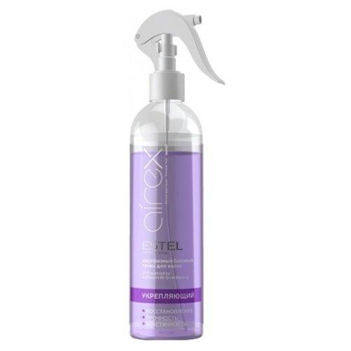 Фото - ESTEL AIREX Укрепляющий двухфазный базовый тоник для волос, 400 мл estel мусс для волос сильной фиксации 400 мл estel airex