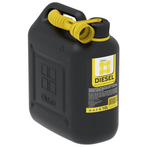 Канистра OKTAN Diesel 10.01.01.00-4, 10 л канистра пластиковая oktan profi для гсм 20 л