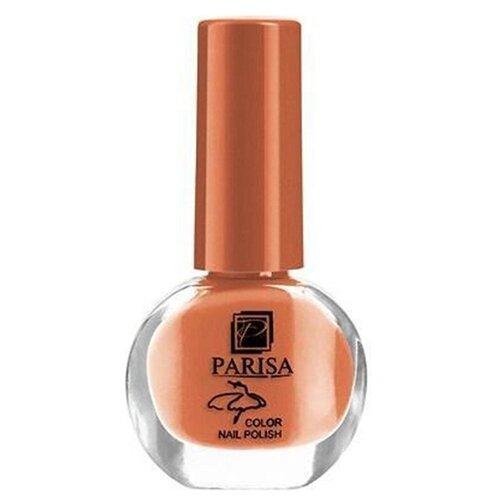 Лак Parisa Ballet Mini, 6 мл, №76 оранжево-кирпичный
