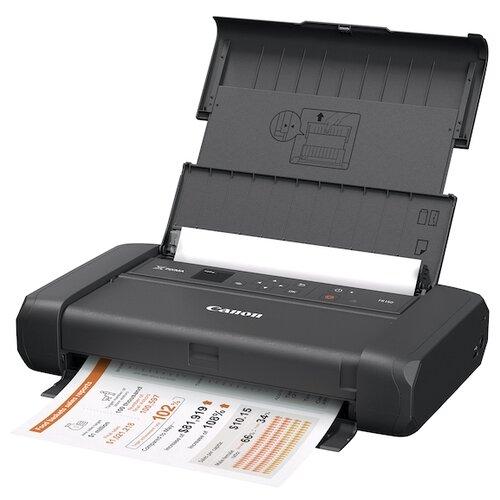 Фото - Принтер Canon TR150, черный принтер струйный canon pixma tr150 4167c027 a4 wifi usb черный в комплекте батерея