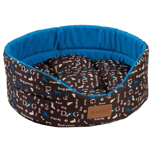 Лежак для собак и кошек Katsu Yohanka Shine Dogs 5 64х56х23 см синий