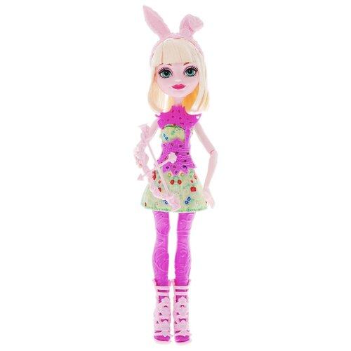 кукла mattel ever after high сказка наизнанку седар вуд cdm49 cdm51 Кукла Ever After High Лучницы Банни Бланк, 26 см, DVH81
