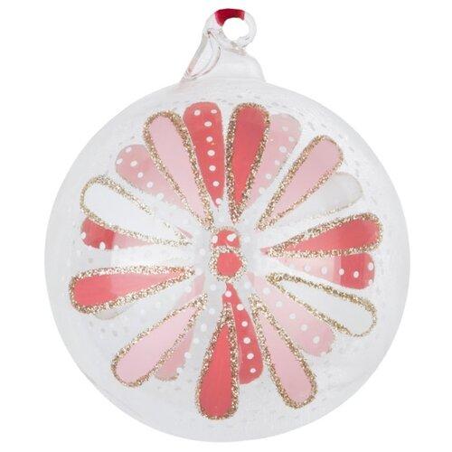 Набор шаров KARLSBACH 08724, розовый/белый