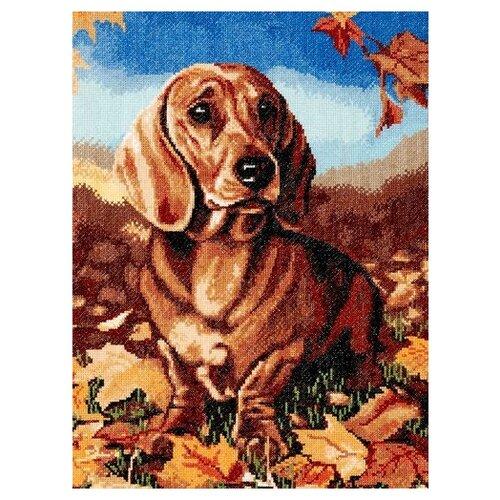 Купить Hobby & Pro Набор для вышивания Осенняя грусть 29 х 39 см (724), Наборы для вышивания