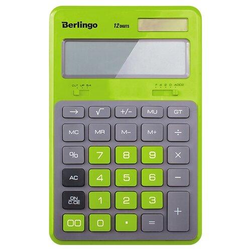 Калькулятор бухгалтерский Berlingo Hyper зеленый