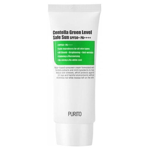 Purito крем Centella Green Sun Level Safe, SPF 50, 60 мл