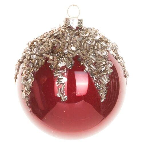 Набор шаров KARLSBACH 06835, красный/серебристый
