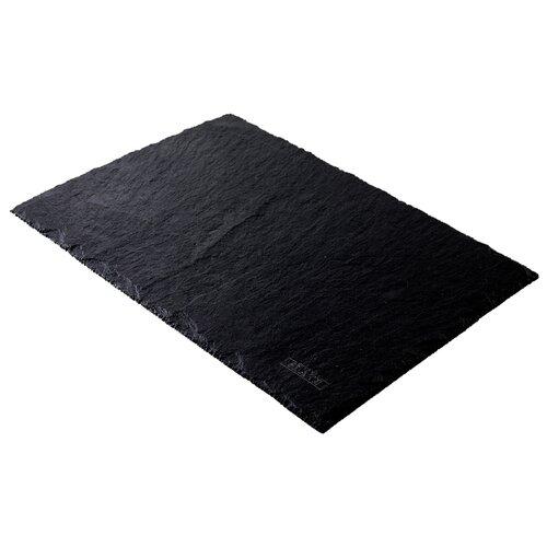 GourmetSlate Сланцевое Блюдо Native 35см х 25см черный