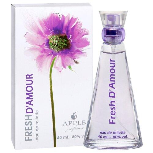 Туалетная вода Apple Parfums Fresh D'Amour, 40 мл apple parfums b 52 туалетная вода 80 мл