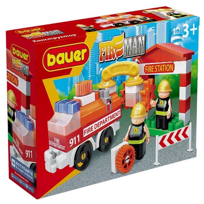 Конструктор Bauer Fireman 739-58 Пожарная машина и пожарный гидрант