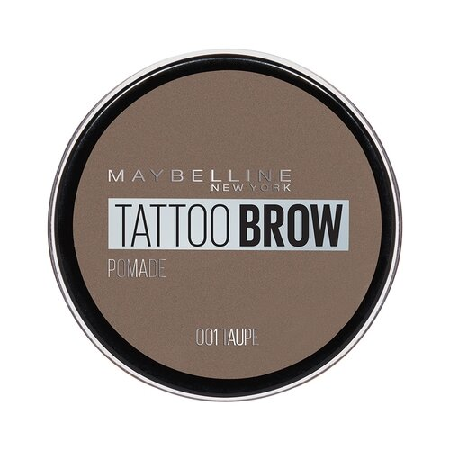 цена на Maybelline New York Стойкая помада для бровей Tattoo Brow Pomade 01, серо-коричневый