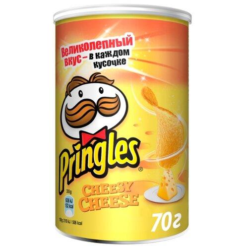Чипсы Pringles картофельные Cheesy Cheese, 70 г чипсы pringles картофельные crab 70 г
