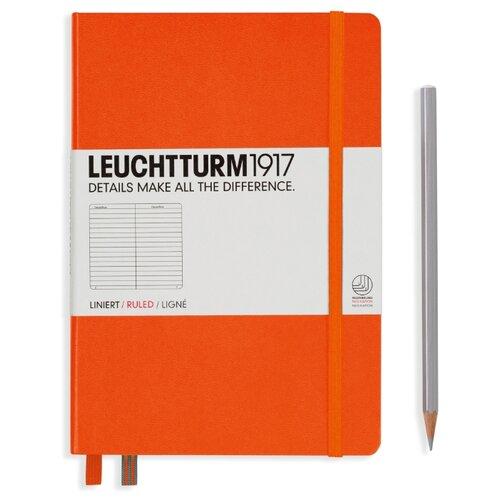 Купить Блокнот Leuchtturm1917 342934 (оранжевый) A5, 124 листа, Блокноты