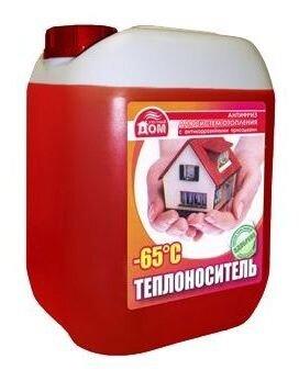 Теплоноситель этиленгликоль Комфортный дом -65