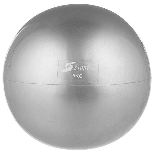 Медбол START UP NT40510, 5 кг серый цена 2017