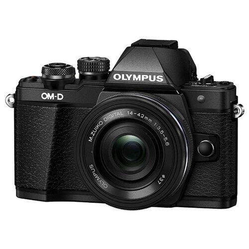 Фотоаппарат Olympus OM-D E-M10 Mark II Kit черный M.Zuiko Digital ED 14‑42mm F3.5‑5.6 EZ Pancake