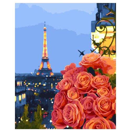 Купить Картина по номерам ВанГогВоМне ZX 23055 Снова в Париже 40х50 см, Картины по номерам и контурам