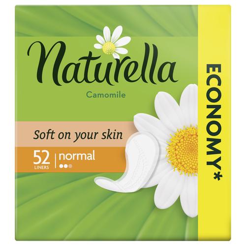 Naturella прокладки ежедневные Camomile Normal daily, 2 капли, 52 шт.  - Купить