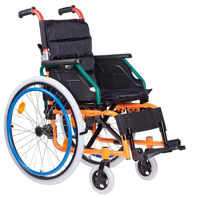 Кресло-коляска механическое Armed FS980LA, ширина сиденья: 340 мм