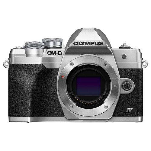 Фотоаппарат Olympus OM-D E-M10 Mark IV Body серебристый