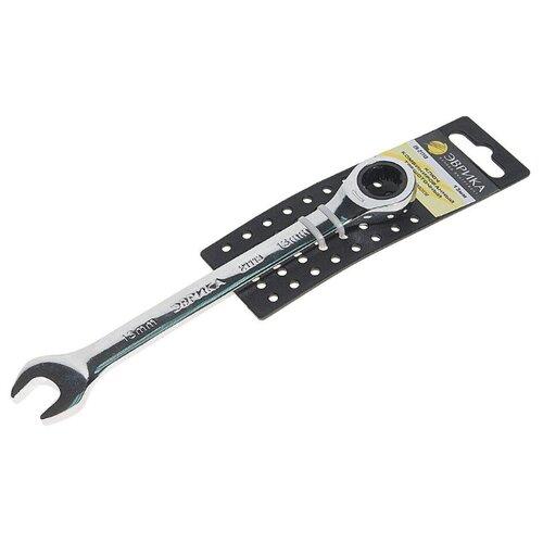 Эврика Ключ трещоточный комбинированный 13мм ER-21113H ключ matrix 14806 комбинированный трещоточный 13мм crv зеркальный хром professional
