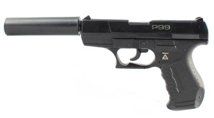 Пистолет SOHNI-WICKE Специальный агент P99 с глушителем (0473F)