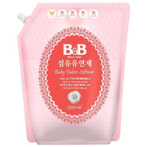 Кондиционер для стирки детского белья с ароматом жасмина и розы B&B 1.3 л