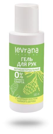 Гель для рук Levrana антибактериальный с эфирным маслом чайного дерева — купить по выгодной цене на Яндекс.Маркете