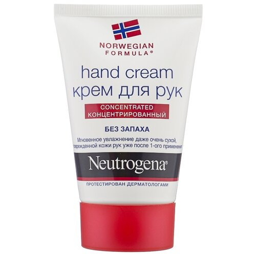 Крем для рук Neutrogena Norwegian formula без запаха 50 мл крем neutrogena healthy skin visibly even