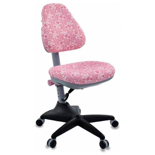 Компьютерное кресло Бюрократ KD-2 детское, обивка: текстиль, цвет: розовый/сердце маргарита логвинова детское сердце разбито войной