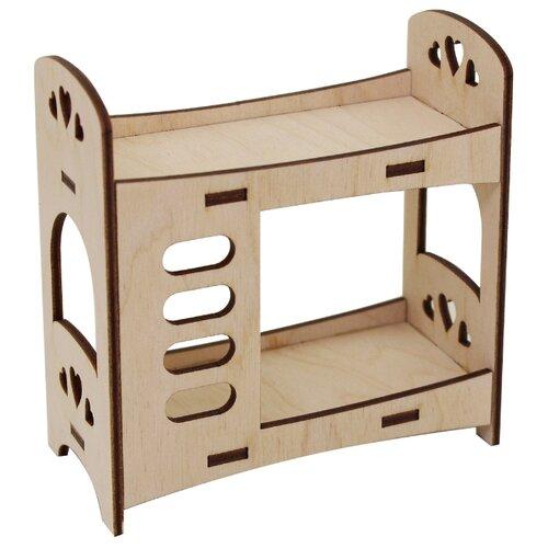 Купить Astra & Craft Деревянная заготовка для декорирования Сердечки L-656 береза, Декоративные элементы и материалы