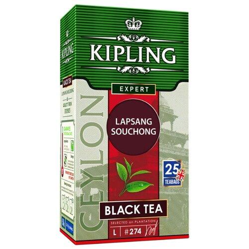Чай черный Kipling Lapsang Souchong в пакетиках, 25 шт.Чай<br>