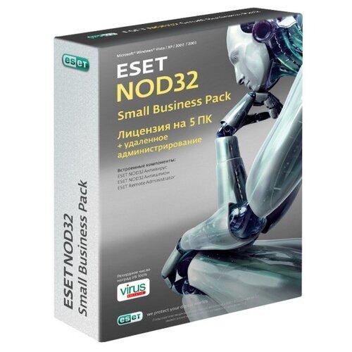 Антивирус ESET NOD32 Small Business Pack только лицензия 5 шт. русский 12 только лицензия