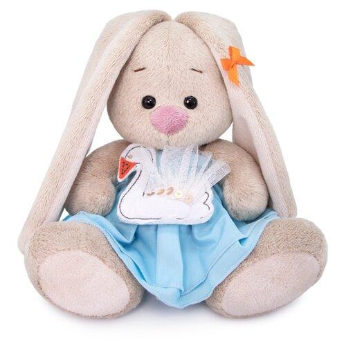 Фото - Мягкая игрушка Зайка Ми с лебедем 15 см мягкая игрушка зайка ми в лиловом 23 см