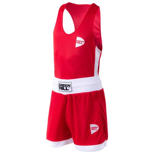 Форма для бокса Green Hill Bsi-3805 Interlock, детская, красный (10 лет)