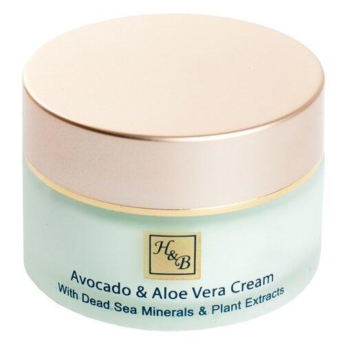 Купить Health & Beauty Intensive Avocado & Aloe Vera Cream Интенсивный крем для лица с авокадо и алое вера, 50 мл
