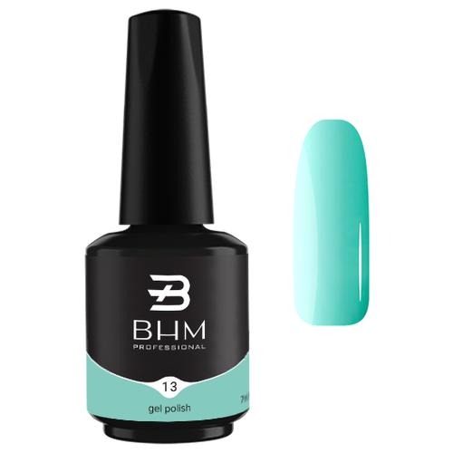 Гель-лак для ногтей BHM Professional Gel Polish, 7 мл, №013 Mint ice cream гель лак для ногтей bhm professional gel polish 7 мл 035 fashion violet