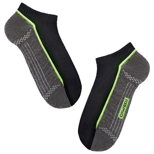 Фото - Носки Active 15С-44СП 044 Diwari, 29 размер, черный/темно-серый носки мужские стильная шерсть цвет темно серый белый 618 1с47 125 размер 29