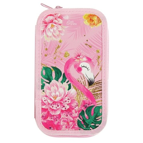 Calligrata Пенал Фламинго (4235270) розовый