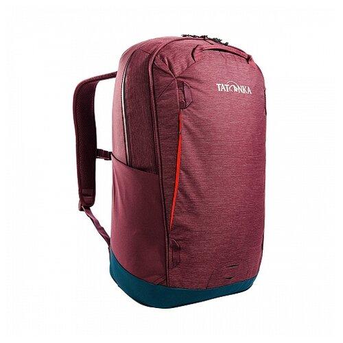 рюкзак женский tatonka magpie для учебы и работы цвет темно серый 17 л Рюкзак Tatonka CITY PACK 25 цвет бордовый