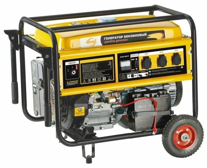 Бензиновая электростанция Denzel GE7900E
