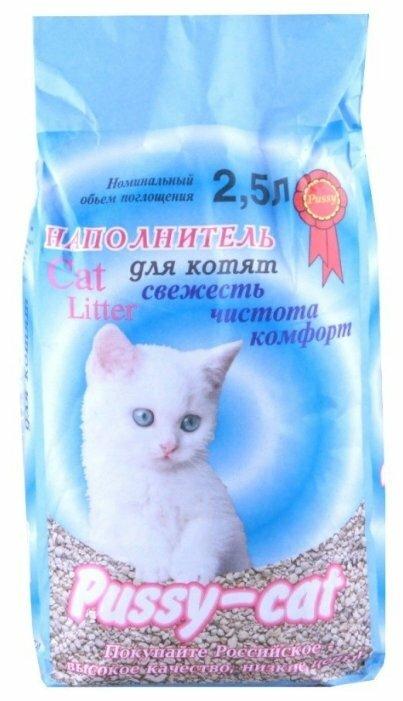 Наполнитель Pussy-Cat Для котят (2.5 л)