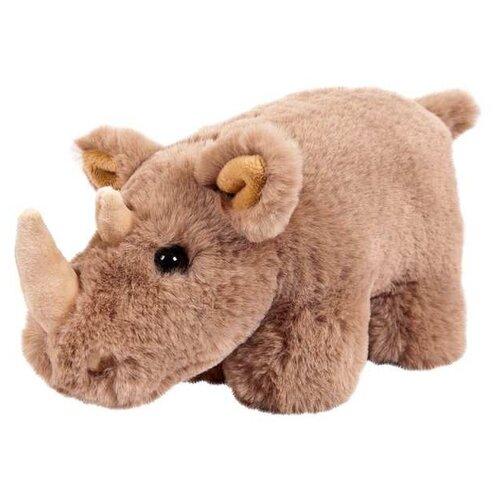Мягкая игрушка Junfa toys В дикой природе Носорог коричневый 18 см