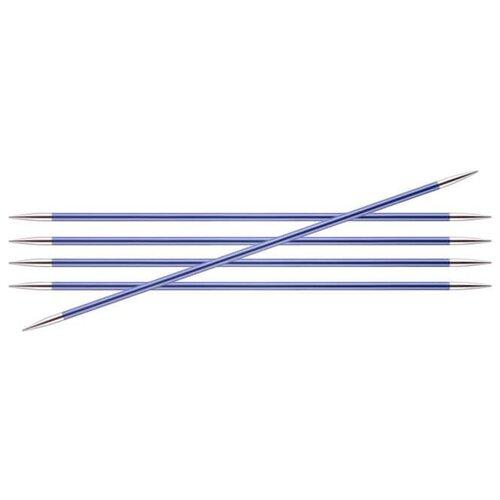 Купить Спицы Knit Pro Zing 47010, диаметр 4.5 мм, длина 15 см, иолит