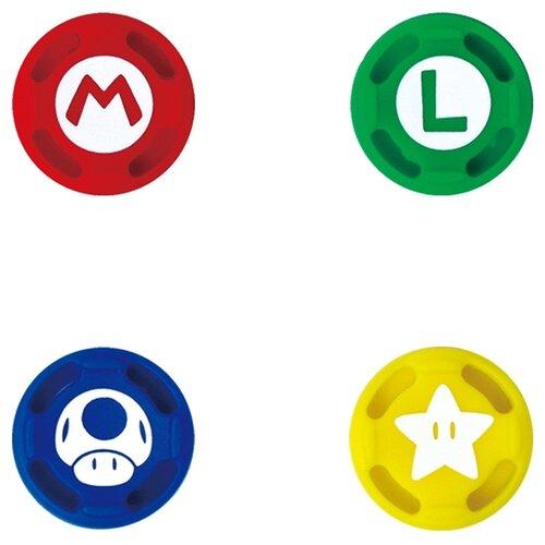 Купить HORI Сменные накладки для консоли Nintendo Switch (NSW-036U / NSW-092U) Super Mario