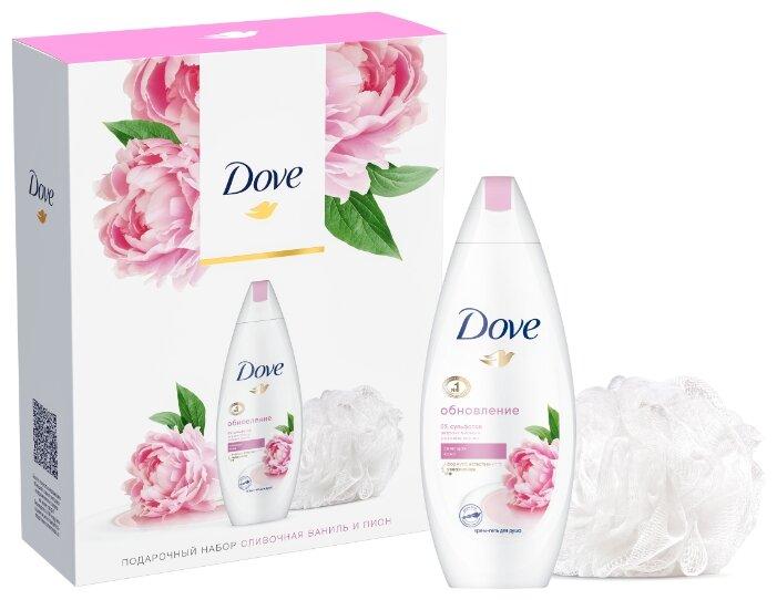 Набор Dove Сливочная ваниль и пион