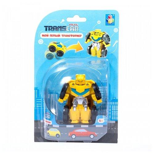Фото - Трансформер 1 TOY Мой первый трансформер Спорткар Т16516 / Т16513 спорткар желтый трансформер 1toy мой первый трансформер суперкар